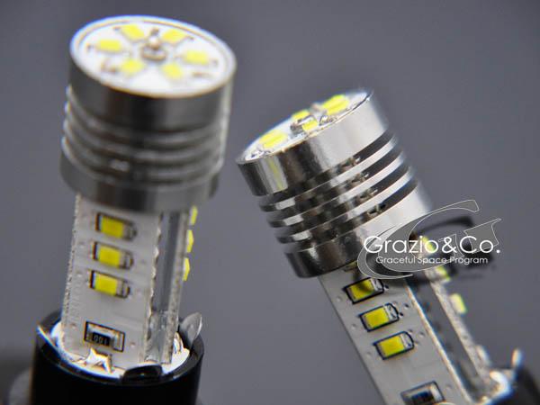 LED バルブ | Grazio 汎用 | LED バルブ【グラージオ】Grazio 高輝度LEDバルブ シリ-ズ h (電圧12~14V 電流225mA LED 日亜化学工業?製) HB4