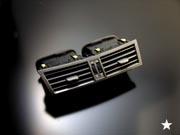 LEXUS GS S190 | 内装パーツ / その他【グラージオ】LEXUS GS BCR A/Cレジスタ-ASSY センタ-(全年式・グレ-ド共通 エアコンロゴはオフブラック 仕上げ)
