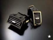 LEXUS GS S190   内装パーツ / その他【グラージオ】LEXUS GS BCR A/Cレジスタ-ASSY サイド(全年式・グレ-ド共通 エアコンロゴはオフブラック 仕上げ)