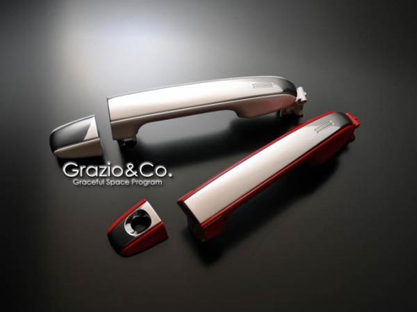 86 - ハチロク -   ドアノブ【グラージオ】86 ZN6 コンビドアハンドルユニット クローム タッチセンサー内蔵GT-Limited/GT対応品