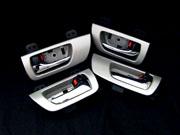 30 ハリアー | 内装パーツ / その他【グラージオ】ハリアー Silver Metalic インナードアハンドルユニットSET(1台分4点セット)ハイブリッド装着可