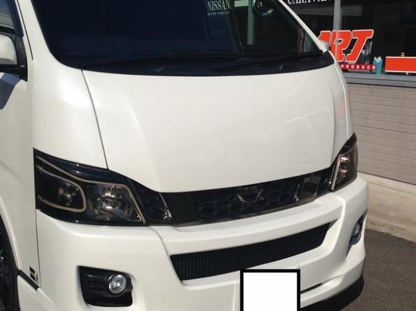 E26 NV350 キャラバン CARAVAN | ボンネット ( フード )【エアーズロックジャパン】NV350キャラバン ユーロボンネット 未塗装品
