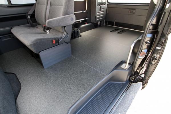 200 ハイエース | 付属品 / OPTION品【ユーアイ】ハイエース 200系 標準ボディ ワゴンGL 車中泊 ベッドキット Ver.3用 オプション ワゴンGL専用簡易床張りキット