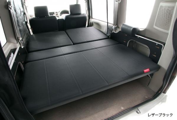 DA64V EVERY VAN | ベットキット【ユーアイ】エブリィバン DA64V マルチウェイ車中泊 ベッドキット 20?ウレタン+レザー仕上げ ブラック