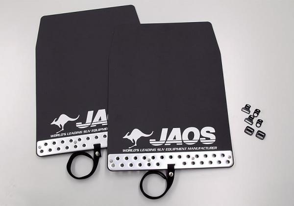 デリカスペースギア | 泥除け / マッドガード【ジャオス】JAOS マッドガード3 汎用タイプ Lサイズ ブラック