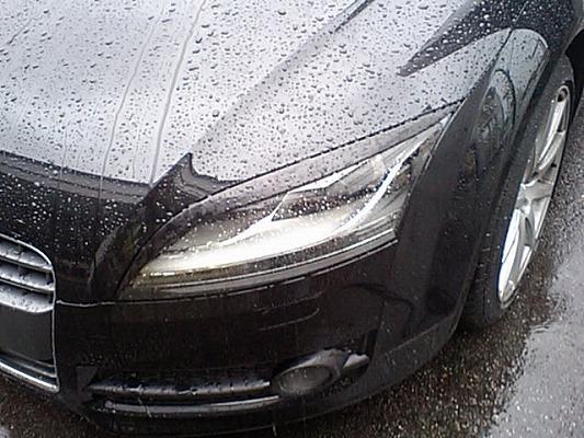Audi TT 8J | アイライン【シルキーシャークプロジェクト】TT 8J アイライン Type1 シルバーカーボン クリア塗装済み