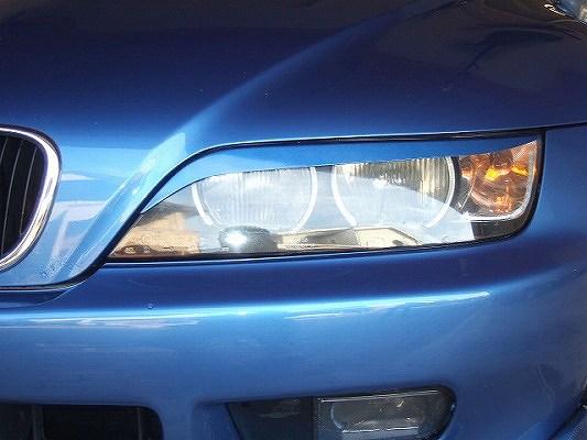 BMW Z3 E36/37 | アイライン【シルキーシャークプロジェクト】BMW Z3 前期/後期 アイライン Type4 FRP未塗装・黒ゲルコート仕上げ