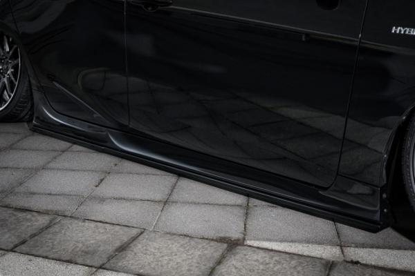 50 プリウス | サイドステップ【ルーフ / クール】プリウス 50系 後期 (50R-SS2) サイドステップ Ver2 HG 塗装済