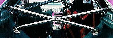 Z32 フェアレディZ | 補強パーツ / 室内【ネクスト】フェアレディZ Z32 ミラクルクロスバー 2シーター 232Ф