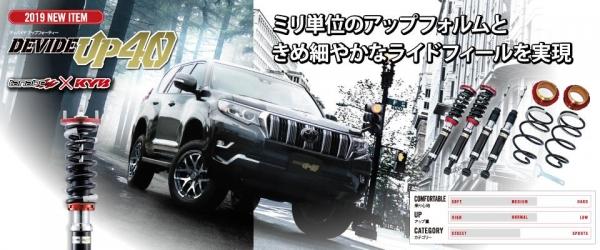 D5 デリカ | サスペンションキット / (車高調整式)【タナベ】デリカD:5 CV1W 後期 DEVIDE UP40