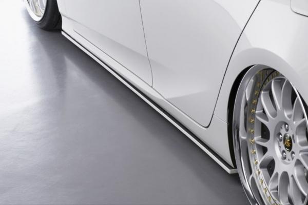 50 プリウス | サイドステップ【フォルテ】プリウス 50系 後期 FORTEオリジナルボディキット サイドスポイラー 2色塗装