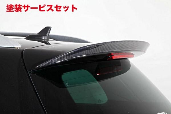 ★色番号塗装発送VW PASSAT VARIANT | ルーフスポイラー / ハッチスポイラー【ガレージベリー】VW Passat Variant R36 リアルーフスポイラー FRP製