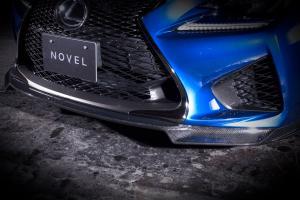 レクサス RC F | フロントリップ【ノヴェル】LEXUS RC-F フロントリップスポイラー カーボン製