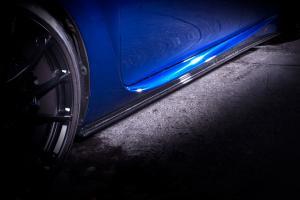 LEXUS GS F URL10 レクサス GS F | サイドステップ【ノヴェル】LEXUS GS-F サイドスポイラー カーボン製