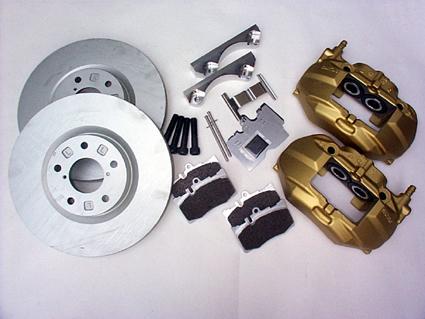 S15 シルビア | ブレーキ流用キット / フロント (キャリパー付)【ナイトペイジャー】シルビア S15 UCF30ブレーキ流用キット フロント