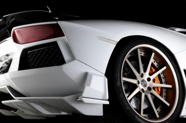 Aventador アヴェンタドール | リアアンダー / ディフューザー【プロコンポジット】LAMBORGHINI AVENTADOR REAR SIDE DIFFUSER & SIDE SPLITTER ドライカーボン + CFRP