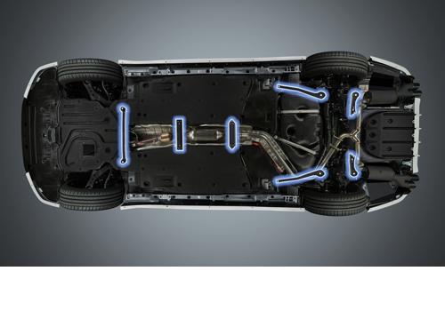 LEXUS ES AX | フロアサポート / メンバーサポート【ティーアールディー レクサス】レクサス ES300h 10系 メンバーブレース
