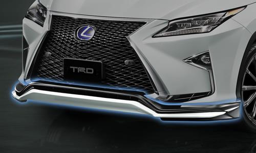 LEXUS RX 200/450 GL2#   フロントリップ【ティーアールディー レクサス】レクサス RX 20系 F SPORT 前期(2015/10-2019/8) フロントスポイラー 塗装済 ブラック (212)