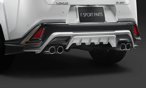 LEXUS UX | ステンマフラー【ティーアールディー レクサス】レクサス UX250h 10系 AWD車 スポーツマフラー