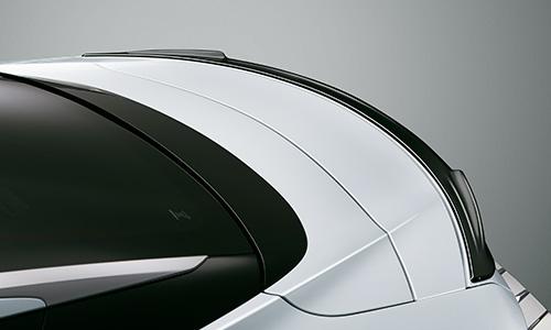LEXUS LC | リアウイング / リアスポイラー【ティーアールディー レクサス】レクサス LC500h/LC500 100系 (2019/9-) リアスポイラー BLACK EDITION (黒塗装)