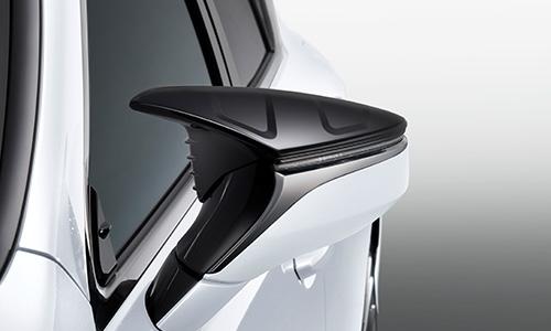 レクサス LS VXFA5# / GVF5# | エアロミラー / ミラーカバー【ティーアールディー レクサス】レクサス LS500/LS500h 50系 エアロダイナミクスミラーカバー