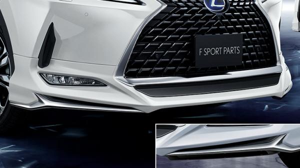 LEXUS RX 200/450 GL2# | フロントハーフ【トヨタモデリスタ】LEXUS RX 20系 後期 F SPORT PARTS MODELLISTA フロントスポイラー 素地