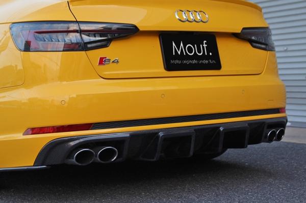 Audi A4 | リアアンダー / ディフューザー【バランスイット】AUDI S4/A4 8W S-line SEDAN/AVANT リアディフューザー カーボン製