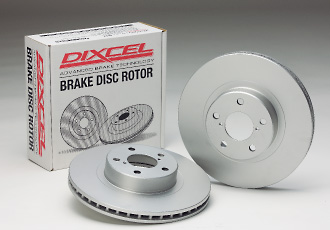 GD インプレッサ | ブレーキローター / フロント【ディクセル】インプレッサ WRX GDA グレード:NB-R アプライド:B型 (01/12~02/10) ブレーキディスクローター DAVtype (逆ベンチタイプ) フロント用 PD Type