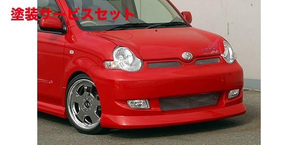 ★色番号塗装発送CP80 シエンタ | アイライン【ランド エアロテック】SIENTA RANDO Style EYE LINE(FRP MODEL)