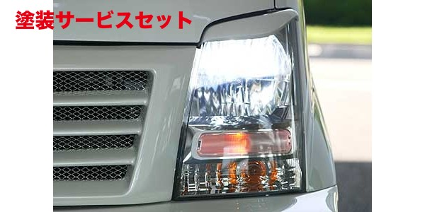 ★色番号塗装発送MH21/22 ワゴンR | アイライン【ランド エアロテック】ワゴンR MH21S 乱人 EYE LINE