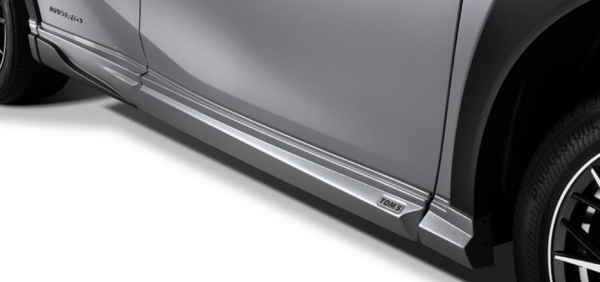 LEXUS UX | サイドステップ【トムス】レクサスUX200/250h MZAH/MZAA10系 サイドステップ 未塗装 (ABS素地)