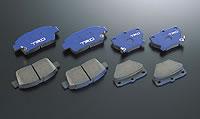 【★送料無料】 ACR50/55 GSR50/55 | ブレーキパット / フロント【ティーアールディー】[エスティマ]GSR50W、ACR50W ブレ-キパッド Blue フロント