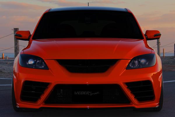 BK アクセラ | フロントバンパー【ウェーバースポーツ】M/S/AXELA BK3P ZENITH LINE MODEL Front Bumper