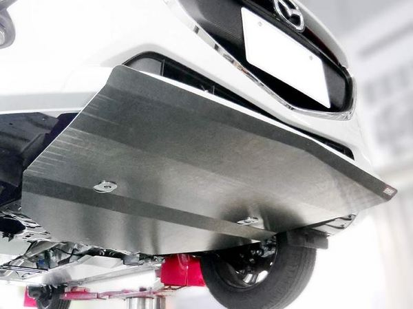 デミオ DJ   フロントアンダー / ディフューザー【オクヤマ】デミオ DJ5FS アンダーガード ワンタッチタイプ