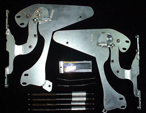 CR-X DELSOL   ガルウイングキット【ウェーバースポーツ】CR-X DELSOL GULL-WING Kit