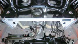 GK3-6 フィット GK3-6 FIT   補強パーツ / 室外 その他【オクヤマ】フィット GK5 フレームブレース フロント スチール製