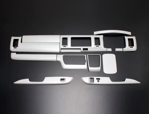 200 ハイエース ワイド | インテリアパネル【フェガーリ】【送料無料!!】ハイエース 200系 4型/5型 S-GL ワイドボディ トップグレード インテリアパネル 14ピース パールホワイト