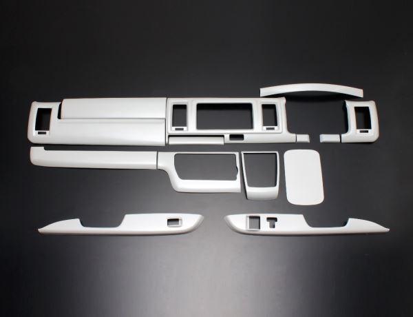 200 ハイエース ワイド | インテリアパネル【フェガーリ】【送料無料!!】ハイエース 200系 4型/5型 DX ワイドボディ ハイグレード インテリアパネル 14ピース パールホワイト