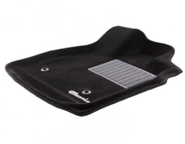 GP/GJ インプレッサ G4 | フロアマット【クラッツィオ】インプレッサスポーツ GP系 AT車 立体フロアマット 1台分セット カーペットタイプ ブラック
