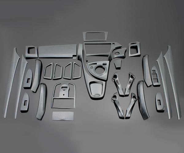 30 プリウス   インテリアパネル【フェガーリ】【送料無料!!】プリウスPHV 35 ハイグレード インテリアパネル 33ピースセット ブラックカーボン調