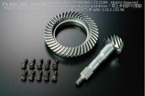 S2000 AP1/2   ファイナルギア【ジェイズレーシング】S2000 AP1/2 WPC+PIP-Sn ファイナルギアセット 4.9