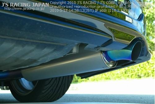 RB1/2 オデッセイ | エキゾーストキット / 排気セット【ジェイズレーシング】ODYSSEY RB1 チタニウム エキゾーストシステム FX 60RS ブルー