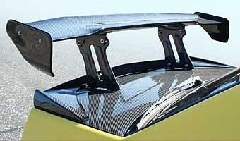 ランサーエボ 7 8 9   GT-WING【バリス】LANCER EVOLUTION VIII ALL CARBON GT-WING(保安基準適合幅〈1400mm〉)
