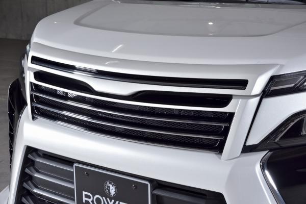 80/85 ヴォクシー VOXY | フロントグリル【ロエン / トミーカイラ】ヴォクシー ZRR80/85 ZS-grade 後期 フロントグリル FRP(単色塗装)ホワイトパールクリスタルシャイン(070)