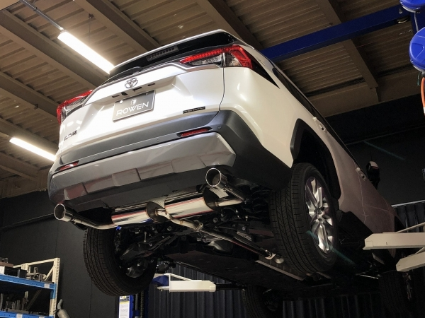 RAV4 XA50 | エキゾーストキット / 排気セット【ロエン / トミーカイラ】新型tRAV4 AXAH54 PREMIUM01S 2.5Lハイブリッド 4WD ステンレステール