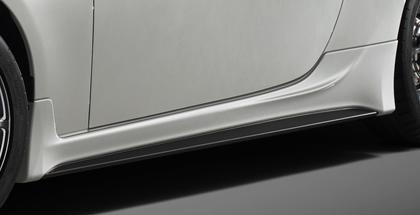 【★送料無料】 86 - ハチロク - | サイドステップ【ティーアールディー】86 TRD Performance Line サイドスカート K1X (クリスタルホワイトパール)