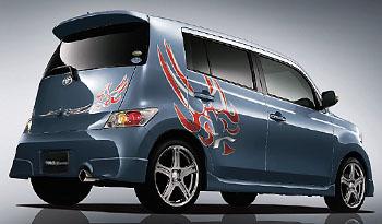 【★送料無料】 QNC20 bB | ステンマフラー【ティーアールディー】bB QNC21 08.10~ ハイレスポンスマフラーVer.S エアロパッケージ以外 2WD車