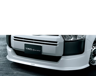 【★送料無料】 プロボックス | フロントハーフ【ティーアールディー】プロボックス・サクシード NSP160V/NCP16#V フロントスポイラー 全車(2014.8~) ブラック (209)
