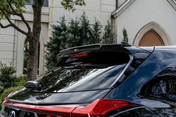 LEXUS UX | ルーフスポイラー / ハッチスポイラー【ロエン / トミーカイラ】レクサスUX 250h/200 MZA10系 ルーフスポイラー FRP (塗分け塗装)