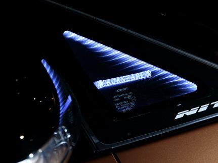 30 アルファード | インテリア その他【アヴァンツァーレ】アルファード 30 ファンタスティック ライティングシステム 左右2枚セット ブルーLED AVANZAREロゴ有
